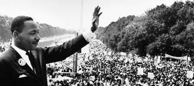 18 gennaio 2016: Martin Luther King Day
