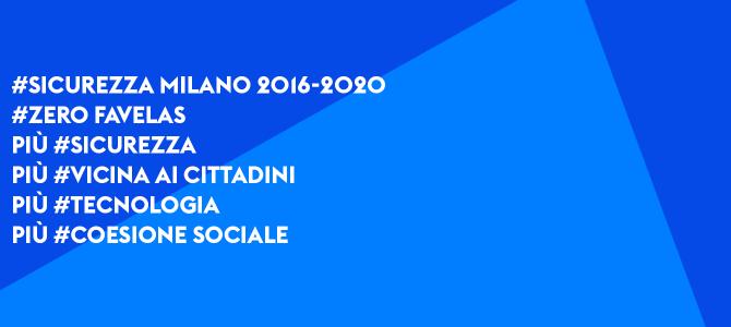 #Sicurezza Milano 2016-2020