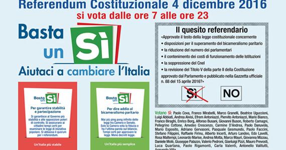 Basta un Sì. Aiutaci a cambiare l'Italia