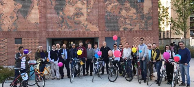Biciclettata nei quartieri per la mozione Matteo Renzi