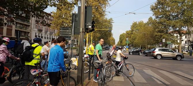 In bici in Corso Sempione: i progetti di riqualificazione e di mobilità