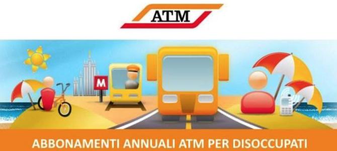 Abbonamenti annuali ATM per i disoccupati