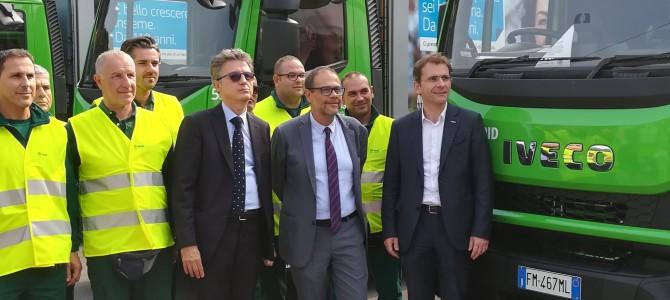 AMSA, 43 nuovi automezzi per la raccolta differenziata