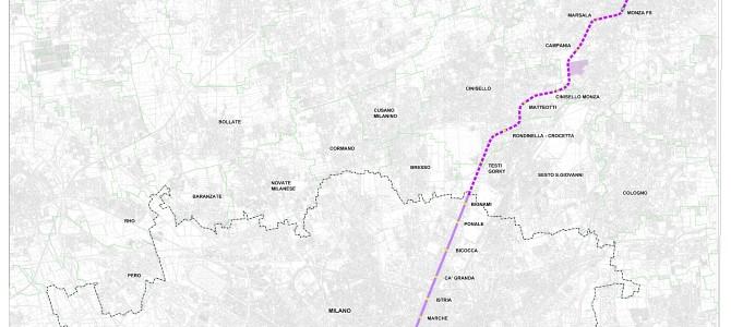 Prolungamento della metro M5 a Monza.