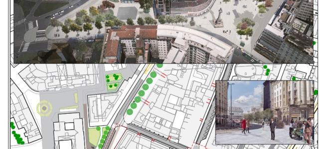 M4. Presentati cinque progetti per le sistemazioni superficiali in centro città