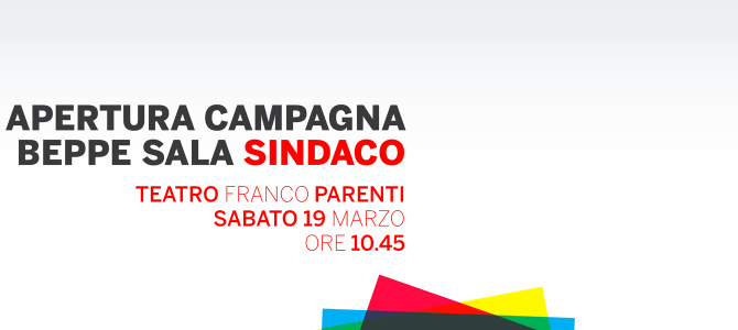 Apertura campagna Beppe Sala Sindaco
