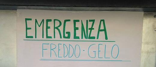 Freddo e solidarietà a Milano