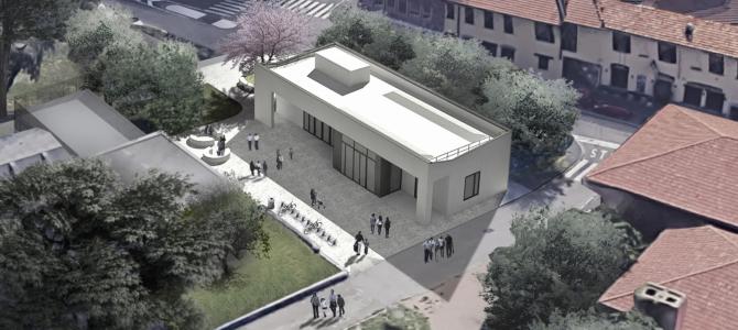 Biblioteca di Baggio: cantiere in dirittura d'arrivo, al via i lavori del nuovo padiglione