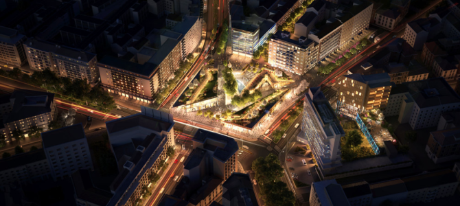 Piazzale Loreto, la nuova agorà verde simbolo di una nuova mobilità