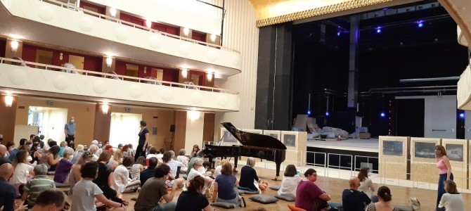 Teatro Lirico, primi concerti con Piano City Milano prima della riapertura ufficiale