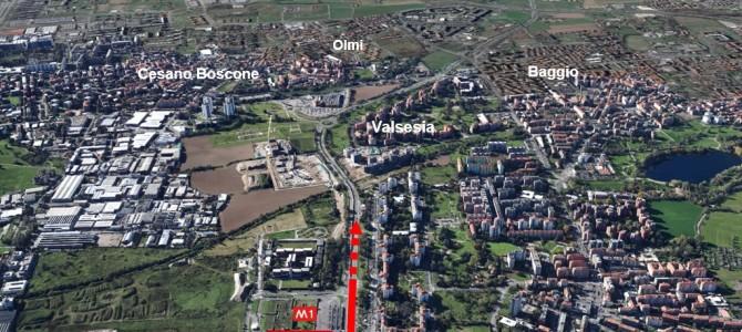 Prolungamento M1 da Bisceglie a Baggio, ok al progetto definitivo da 400 milioni