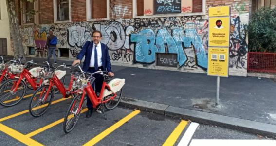 Bike Sharing: aperte tre nuove stazioni virtuali di bikeMi